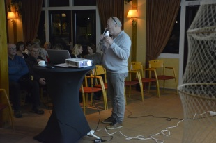 Fokke Wester, projectleider legt uit wat het project inhoudt