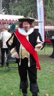 Herry Prinsen in de huid van kapitein Frans Banninck Cocq