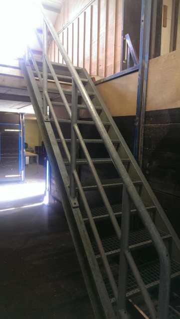 nieuwe trap