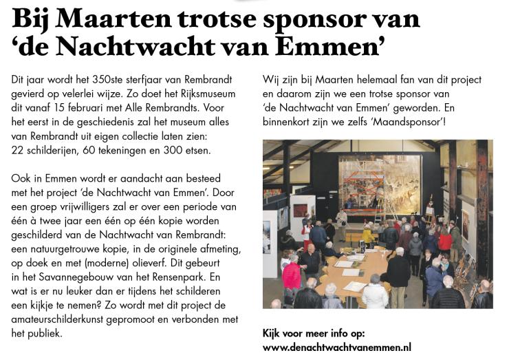 20190325 Krant Bij Maarten