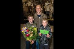 Bas Limenard en zijn 2 zonen uit Heemstede